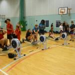 Indoor Rowing and Table Tennis